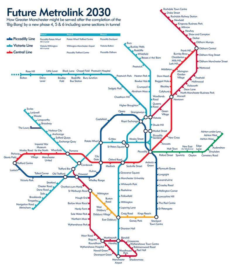 Metrolink timetable